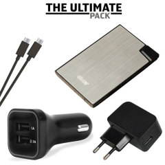 Ultimate Micro USB Charging Pack with EU Wall Charger