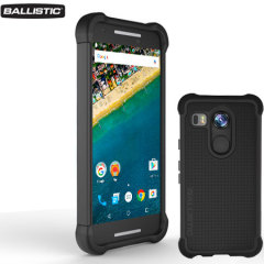 Funda Nexus 5X Ballistic Tough Jacket - Negra