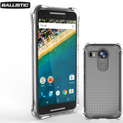 Funda Nexus 5X Ballistic Jewel - Transparente