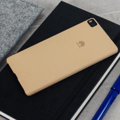 Offizielle Huawei P8 Hard Case Hülle in Khaki