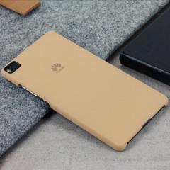 Original Huawei P8 Lite Hülle Hard Case in Khaki
