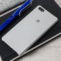 Original Huawei P8 Lite Hülle Hard Case in Hell Grau