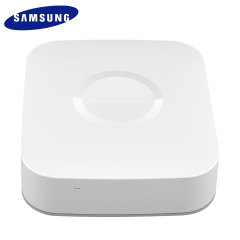Part of the Samsung SmartThings range, the SmartThings Hub is the essential device for your smart home. The SmartThings Hub allows you to connect all smart devices to monitor,control and secure your home.