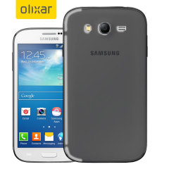 FlexiShield Samsung Galaxy Grand Case - Smoke Black