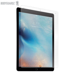 Keep your Apple iPad Pro 12.9 inch safe and secure this UltraTough self-healing screen protector from BodyGuardz which is made from the same material used to shield the front of vehicles from rock chips.