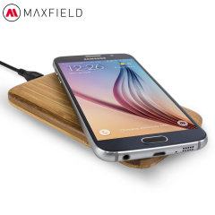 Maxfield M1 QI Wireless Charging Pad - Bamboo
