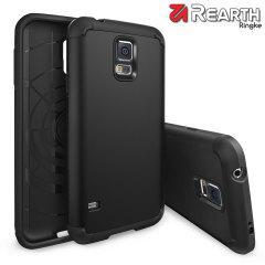 Coque Rearth Ringke Samsung Galaxy S5 Heavy Duty Armor - Noire
