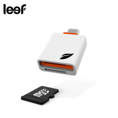 Share photos, store music or watch movies with anyone, anywhere with the Leef Access MicroSD Card Reader for Android.