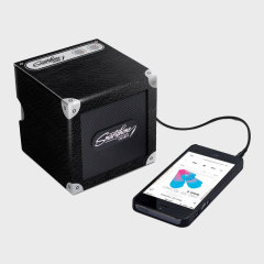 Universal Portable Cardboard Smartphone Speaker - Black