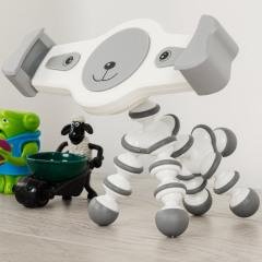 Atractivo, útil y lo más importante ... ¡divertido!. Este soporte de escritorio universal con forma de perro fabricado por Olixar mantendrá seguro su tableta. Se puede ajustar prácticamente de todas las maneras para colocar su tablet de la manera más cómoda para usted.