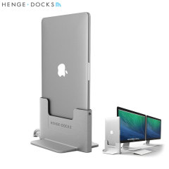 "This premium quality metal vertical docking station for the Apple MacBook Pro 15"" with Retina Display turns your laptop into a desktop and media center PC with access to all of your computer's features."