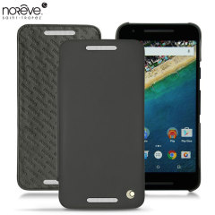 Noreve Tradition D Nexus 5X Ledertasche in Schwarz