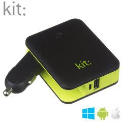 Chargeur voiture / Batterie 3000mAh Kit: 2 en 1 Universel
