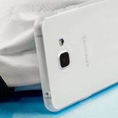 FlexiShield Samsung Galaxy A7 2016 suojakotelo - Huurteisen valkoinen