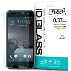 Rearth Invisible Defender HTC One A9 Tempered Glas Displazschutz