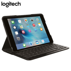 Create, explore and say more with a thin and light protective Bluetooth keyboard tough case from Logitech. The Focus keyboard case in black lets you type faster, while at the same time perfectly protects your iPad Mini 4 from drops and bumps.