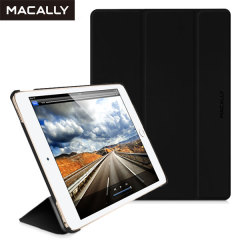Made from a premium polyurethane, The Macally smart case in black provides a perfect fit every time that highlights the sleek design of your iPad Pro 12.9 2015. With an ultra-slim fit that's fully compatible with the Pro's sleep/wake function.