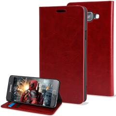 Olixar Samsung Galaxy A3 2016 Wallet Case Tasche in Rot