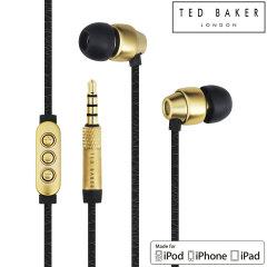 Auriculares Ted Baker Dover de alto rendimiento - Negros / Oro