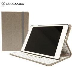 Housse iPad Mini 4 DODOcase Multi-Angle – Brouillard / Geo