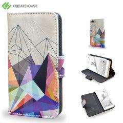Create and Case Xperia Z5 Compact Tasche im BuchDesign Colourflash