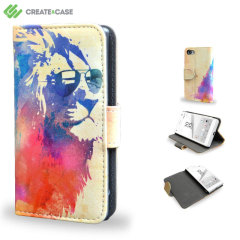 Create And Case Sony Xperia Z5 Compact Plånboksfodral - Soliga Leo