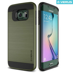 Verus Verge Series Samsung Galaxy S6 Edge Case - Military Green
