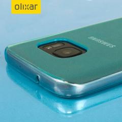 FlexiShield Samsung Galaxy S7 Gel Case - Blue