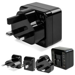 Kensington AbsolutePower 4.2A Dual USB World Reise Adapter
