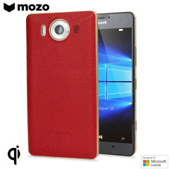 Mozo Microsoft Lumia 950 Batterieabdeckung in Rot