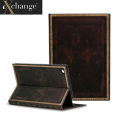 eXchange Black Apple iPad Air 2 Moroccan Cover Case - Black