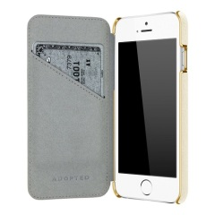 Housse iPhone 6S / 6 Adopted Portefeuille Folio Cuir - Blanche