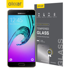Olixar Samsung Galaxy A5 2016 Tempered Glass Skärmskydd