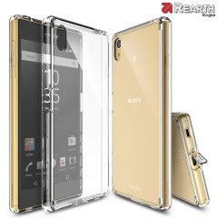 Protect the back and sides of your Sony Xperia Z5 with this incredibly durable and crystal clear backed Fusion Case by Ringke.