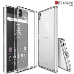 Protect the back and sides of your Sony Xperia Z5 Premium with this incredibly durable and crystal clear backed Fusion Case by Ringke.