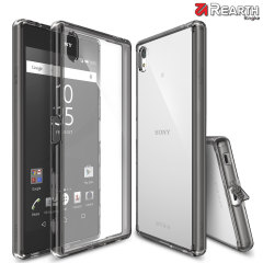 Protect the back and sides of your Sony Xperia Z5 Premium with this incredibly durable and smoke black, crystal backed Fusion Case by Ringke.