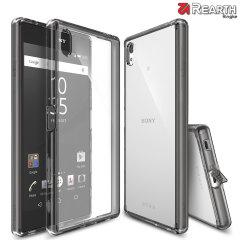 Proteja la parte trasera y los bordes de su Sony Xperia Z5 Premium con esta increíble y elegante funda Fusion de Ringke.