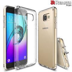 Protégez le dos et les côtés de votre Samsung Galaxy A5 2016, cette coque cristalline incroyable et durable par la marque Ringke, possède un design épuré mettant parfaitement en valeur la conception du A5 tout en le gardant protégé.