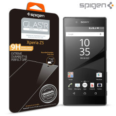 Spigen GLAS.tR SLIM Sony Xperia Z5 Tempered Glass Screen Protector