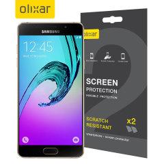 Olixar Samsung Galaxy A5 2016 Skärmskydd - Tvåpack