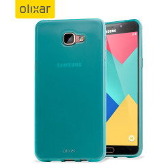 Custom moulded for the Samsung Galaxy A9. This blue Olixar FlexiShield case provides a slim fitting stylish design and durable protection against damage, keeping your device looking great at all times.