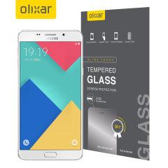 Olixar Samsung Galaxy A9 Tempered Glass Näytönsuoja