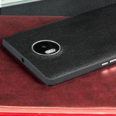 Cette élégante couverture noire de remplacement Mozo est compatible NFC pour un chargement sans fil. Elle est magnifiquement conçue en cuir véritable et offre une protection impeccable pour le Lumia 950 XL. Cet accessoire certifié pour le Lumia saura sublimer votre appareil.