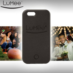 LuMee iPhone 6S Plus / 6 Plus Selfie Light Case - Black