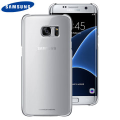 This Official Samsung Clear Cover in silver is the perfect accessory for your Galaxy S7 Edge smartphone.