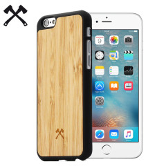 Woodcessories EcoCase Casual iPhone 6/6S Hülle Bamboo & Navy Blau