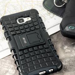 Olixar ArmourDillo Tough Samsung Galaxy A7 2016  suojakotelo - Musta