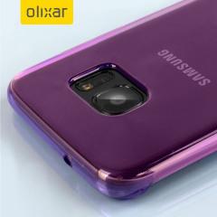 FlexiShield Samsung Galaxy S7 Edge Gel Case - Viola