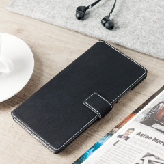 Funda Huawei Mate 8 Olixar Low Profile Estilo Cartera - Negra