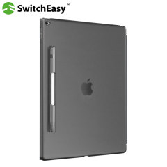 Funda iPad Pro 12.9 SwitchEasy CoverBuddy - Negra Ahumada